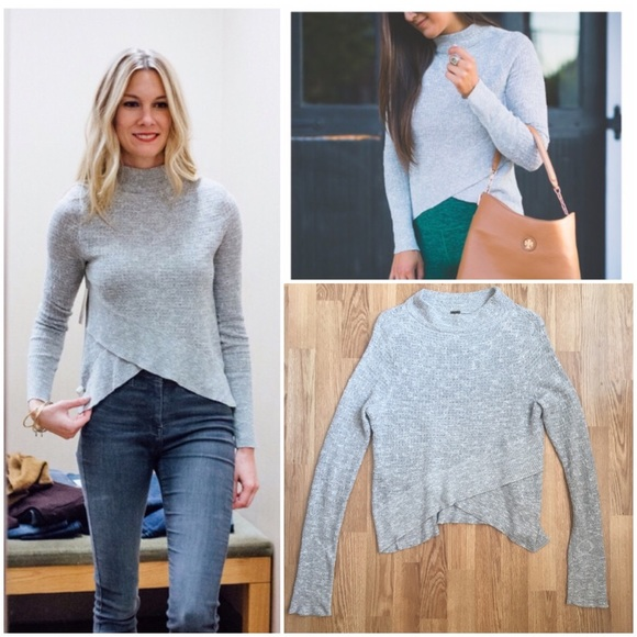 3314fa757e8 Free People Sweaters - 1 DAY SALE 🎉FreePeople mockneck tulip hem sweater